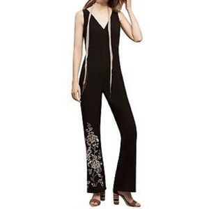 Anthropologie HD In Paris Tal Jumpsuit Embroidered